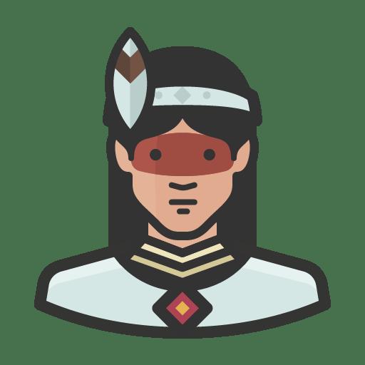 Native-woman icon