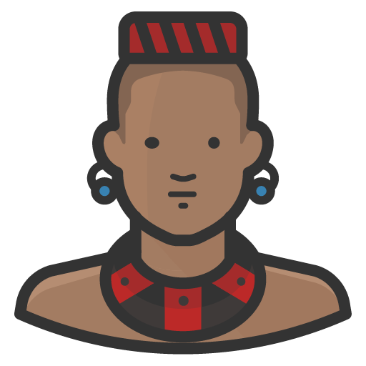 Traditional-african-man icon