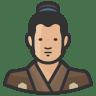 Traditiona-japanese-man icon