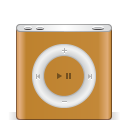 Ipod-nano-orange icon