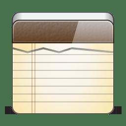 App note icon