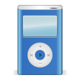 Ipod blue icon