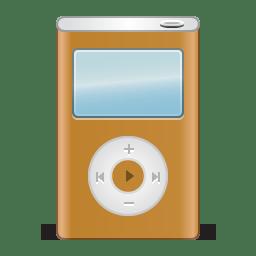 Ipod orange icon