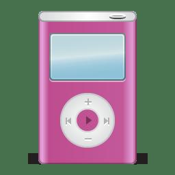 Ipod pink icon