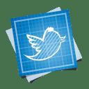 Twitter bird icon