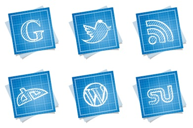 Blueprint Social Icons