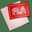 Adobe blueprint fla icon
