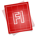 Adobe blueprint flash icon