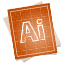 Adobe blueprint illustrator icon
