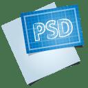 Adobe blueprint psd icon