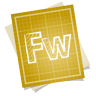 Adobe-blueprint-fireworks icon