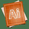 Adobe-blueprint-illustrator icon