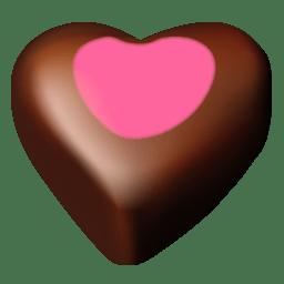 Chocolate hearts 11 icon