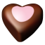 Chocolate hearts 10 icon
