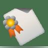 Document seal icon