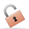 Security unlock icon