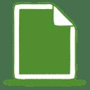 Green-document icon