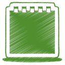 Green notes icon
