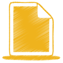 Yellow document icon