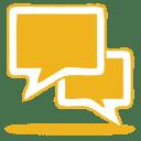 Yellow-talk icon