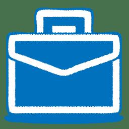 Blue case icon