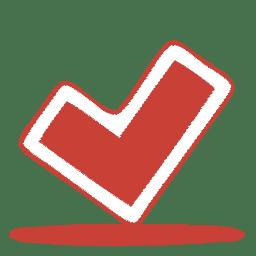 Red ok icon