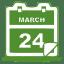 Green-calendar icon