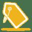 Yellow-tag icon