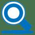 Blue-search icon