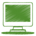 Green-monitor icon