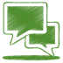 Green-talk icon