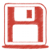 Red-disk icon