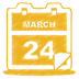 Yellow-calendar icon