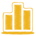 Yellow-chart icon