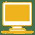 Yellow-monitor icon