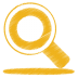 Yellow-search icon