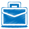 Blue-case icon
