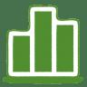Green-chart icon