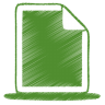Green-document icon