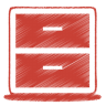 Red-archive icon