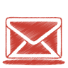 Red-mail icon