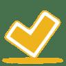 Yellow-ok icon