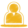 Yellow-user icon