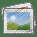 Scribble photos icon