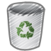 Scribble-bin-empty icon