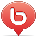Social balloon bebo icon