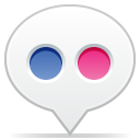 Social balloon flickr icon
