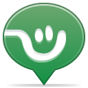 Social balloon frienster icon