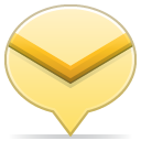 Social-balloon-mail icon