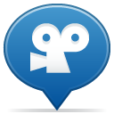 Social balloon movie icon